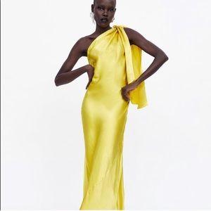 Zara Limited Edition Yellow Dress